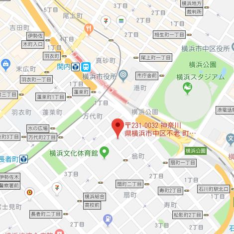 横浜・関内でペットと暮らすマンションをご紹介 「&PET」 MAP